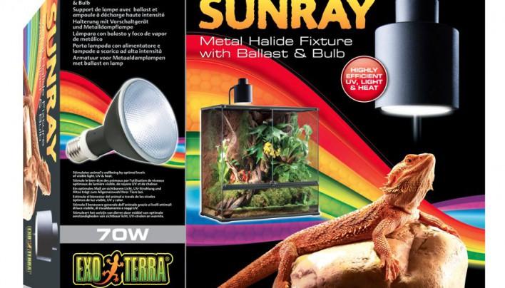 Exo Terra Sunray Terrariumlampe